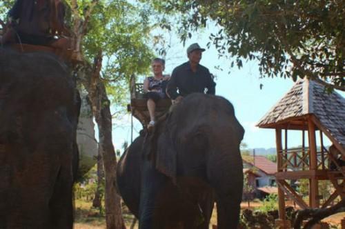 Ban Kiet Nong, Elephant trail