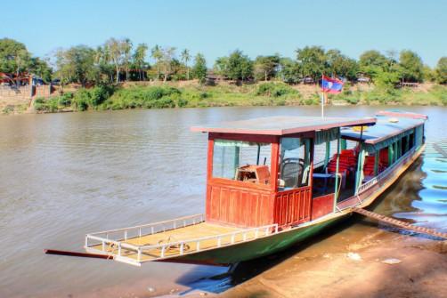 Laos-Mekong-Bootstouren