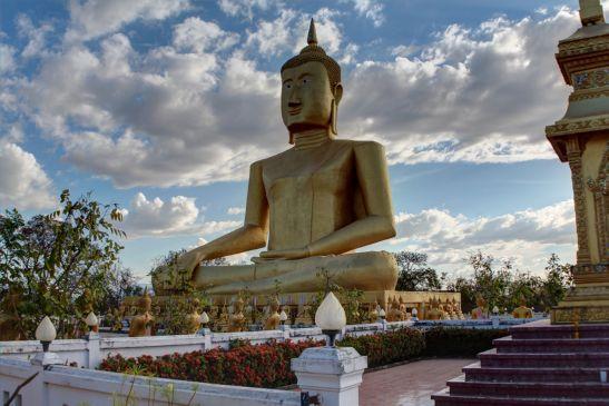 Laos Reise, LLT006, 08, Wat Chompet