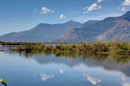Laos Reise Landschaft Champasak