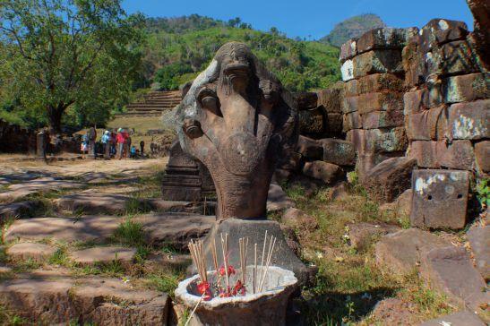 Laos Reise Wat Phu 13