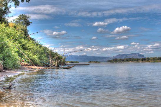 Laos Reisen Foto  Don Koh Island 1