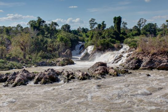 Laos Reisen Foto Khone Pha Pheng 2
