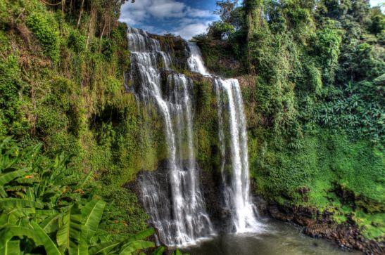 Laos Reisen Foto Tad Yuang Waterfall 14